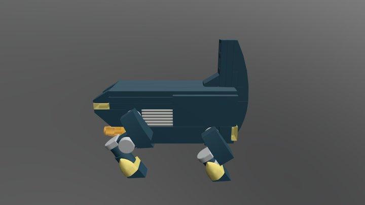 Combat Rhino 4 Better Faster 3D Model