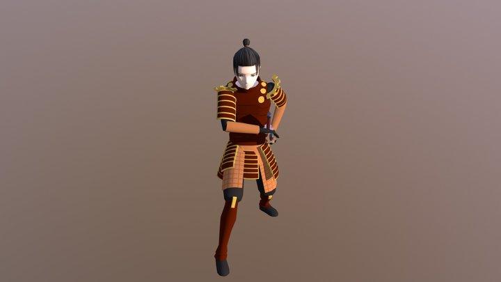 Samurai - Resubmission 3D Model