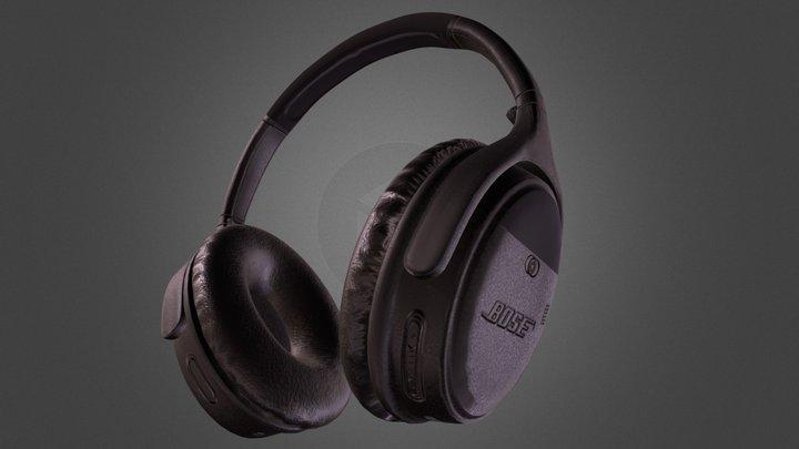 Bose Headphones 3D Model