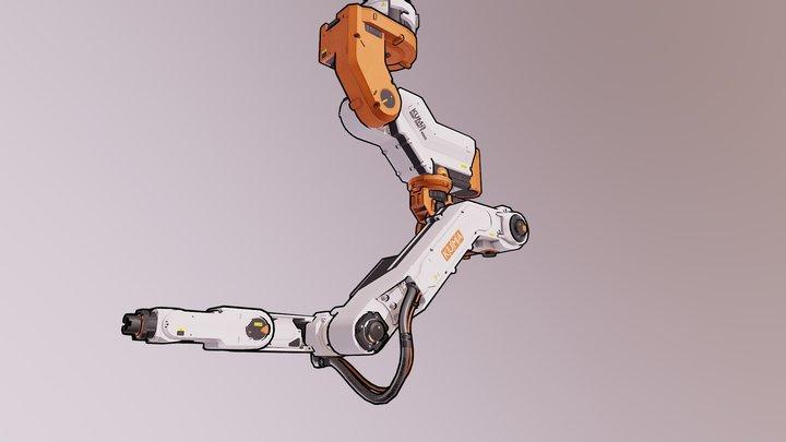 KUMA Heavy Robot R-9000S 3D Model