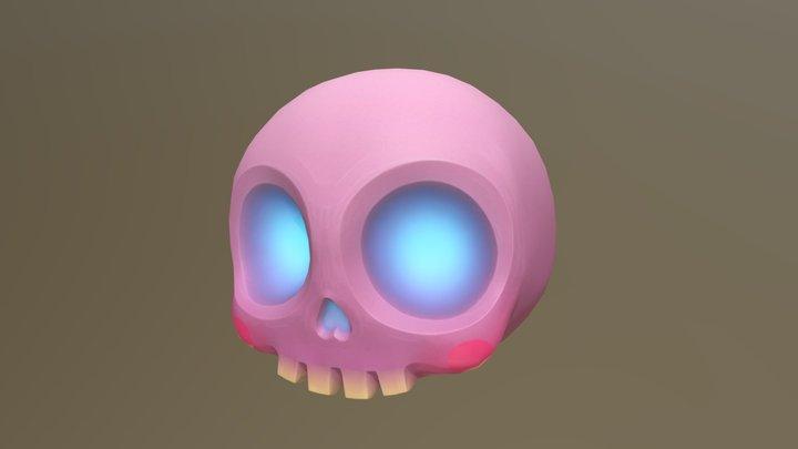 Cute Skull 3D Model