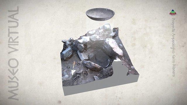 Hallazgo de un plato de la Edad del Bronce 3D Model