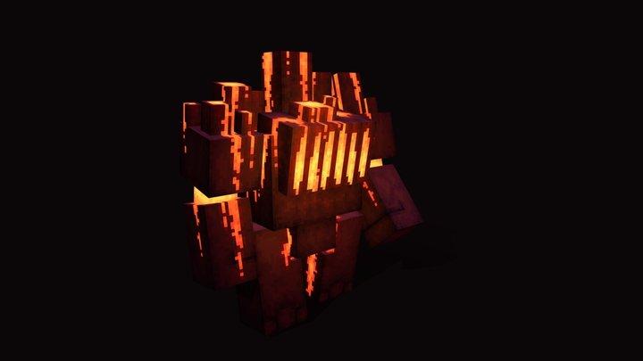 Magman 3D Model
