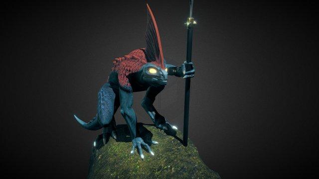 Fan-Model : Skink Skirmisher v2.0 3D Model