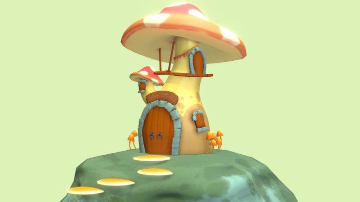 Shroom House 3D Model