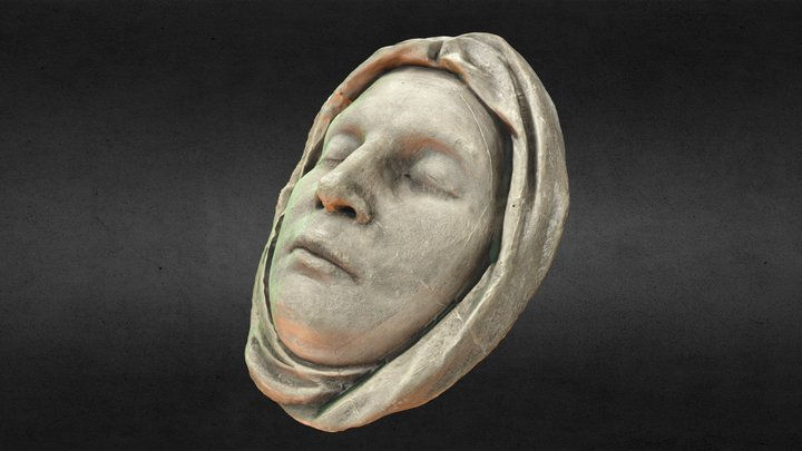 Louise, Queen of Prussia (death mask) 3D Model