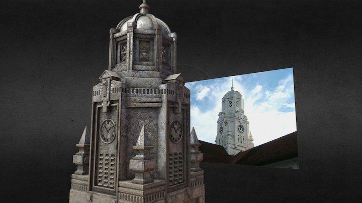 VI's Clock Tower 3D Model