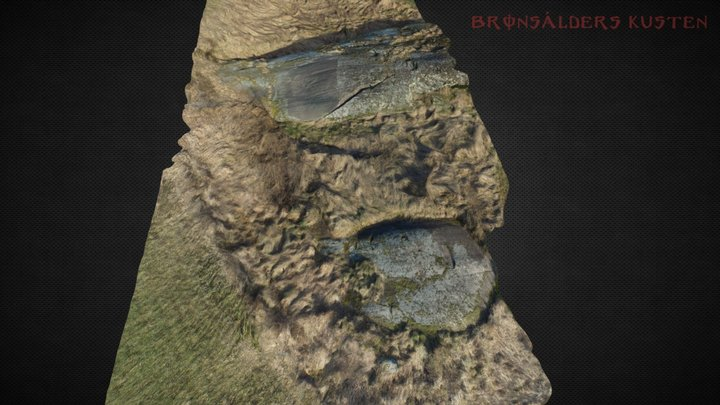 Rock art Gamleby  3D Model