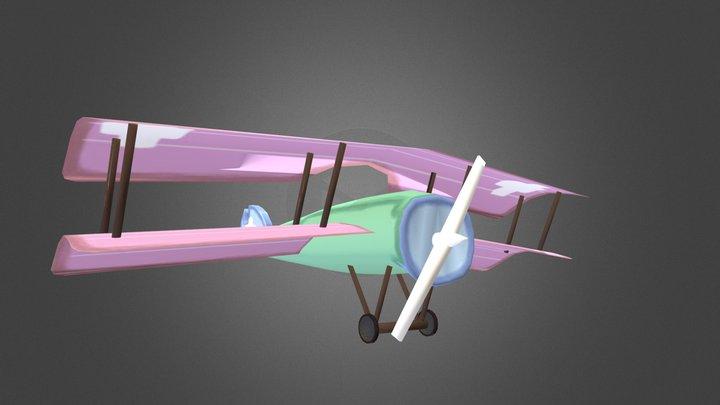 DAE12 Karolien Aerts Asignment01 Plane 3D Model