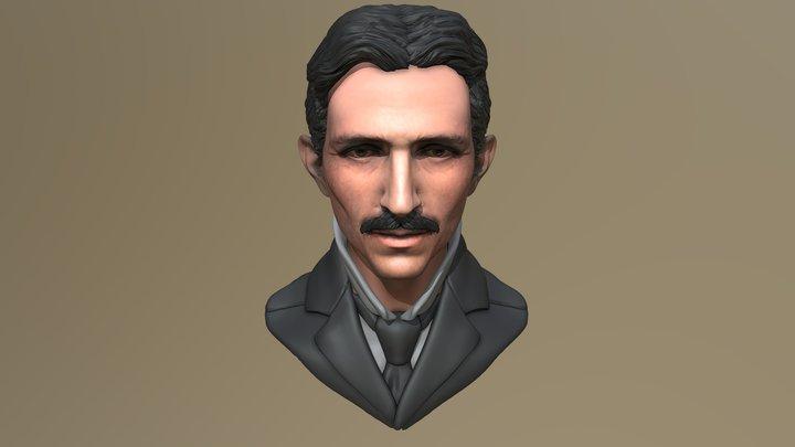 Nikola Tesla 3D Model