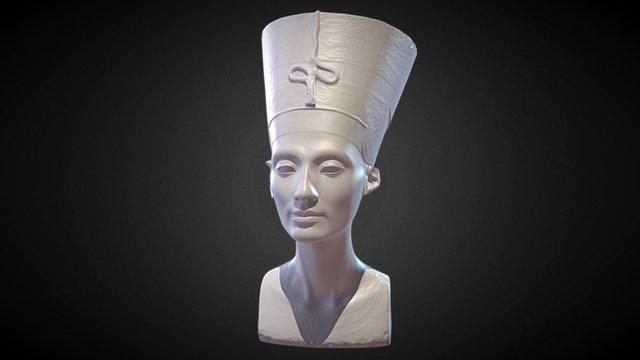 Nefertiti Hack Reduced 3D Model