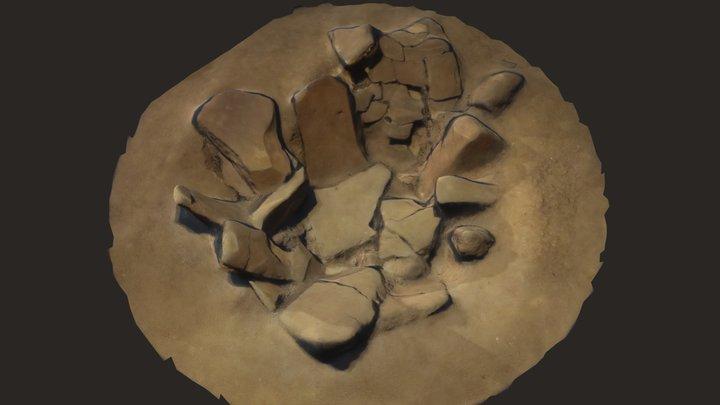 石組炉 3D Model