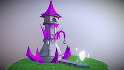 Omen Tower 3D Model