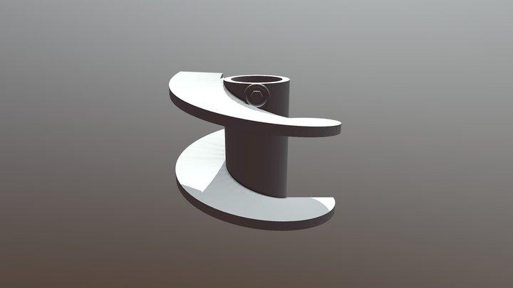 CARACOL SUP DIREITO COMPLETO 12433 3D Model
