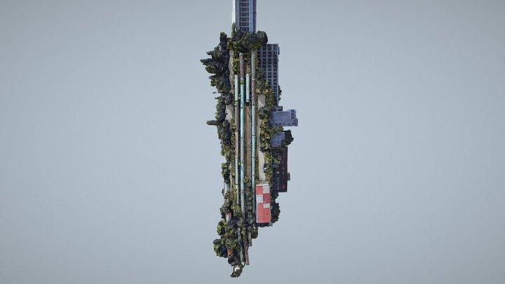 Turnul IFMA 3D Model