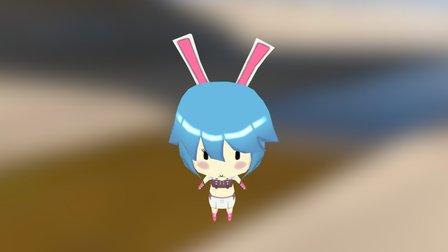 Bunny -Cute 3D Model