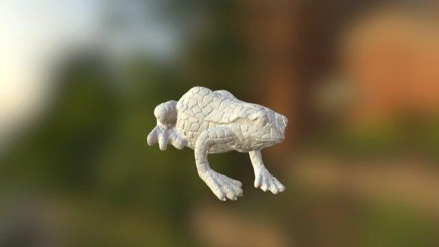 Frosch01 DAVID Ceramic BUILDER 3D Model