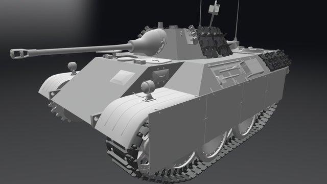 VK 1602 (M) Leopard 3D Model