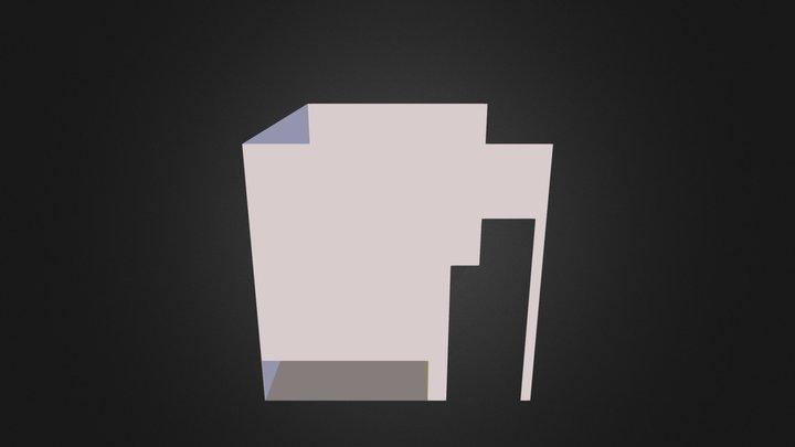 Spavaca Soba Presek 3D Model