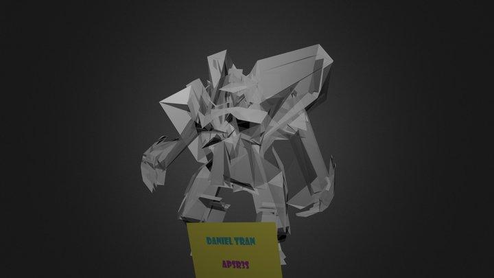 Mech with MoCap Data 3D Model