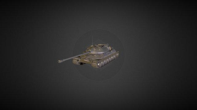IS-7 3D Model