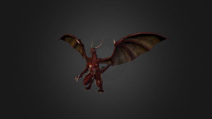 Dragon 3 3D Model