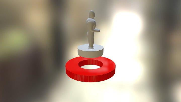Peça de Tabuleiro_V00 3D Model