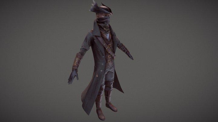 Hunter Set | Bloodborne 3D Model
