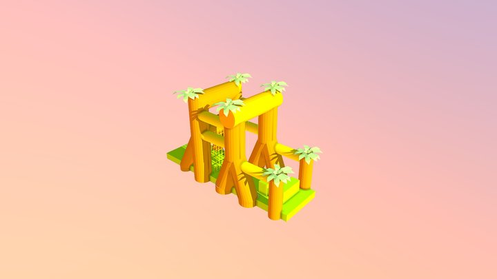 Slingerbaan 3D Model