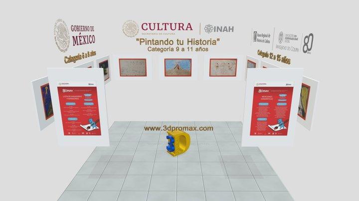 Galeria Pintando Historia 3D Model