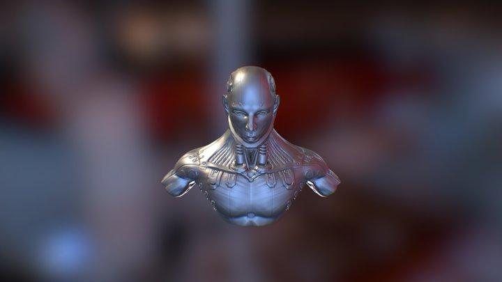 Cyborg Sang Chung 3D Model