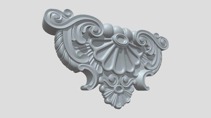 Ornament A 01 3D Model