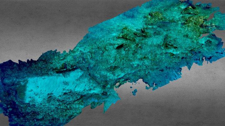 VOC Batavia wreck site, Abrolhos Islands 2019 3D Model