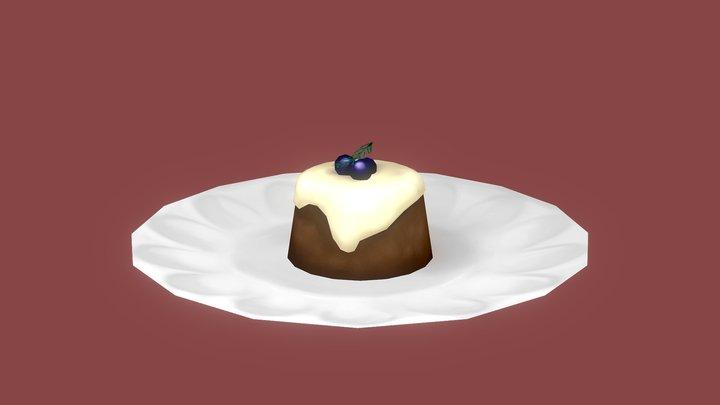 Spice cake 3D Model