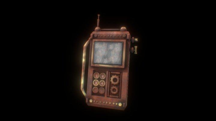 Steampunk communicator 3D Model