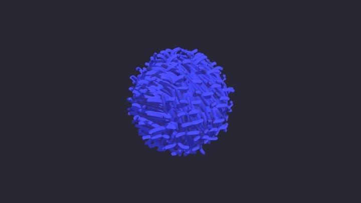 t-cell 3D Model