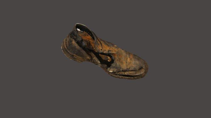 Chaussure cloutée 3D Model