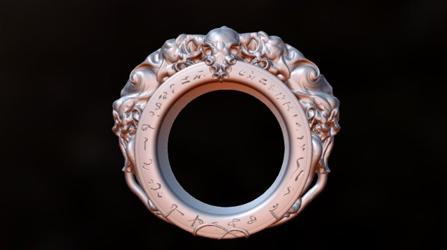 Cthulhu: Ring of the Mad 3D Model