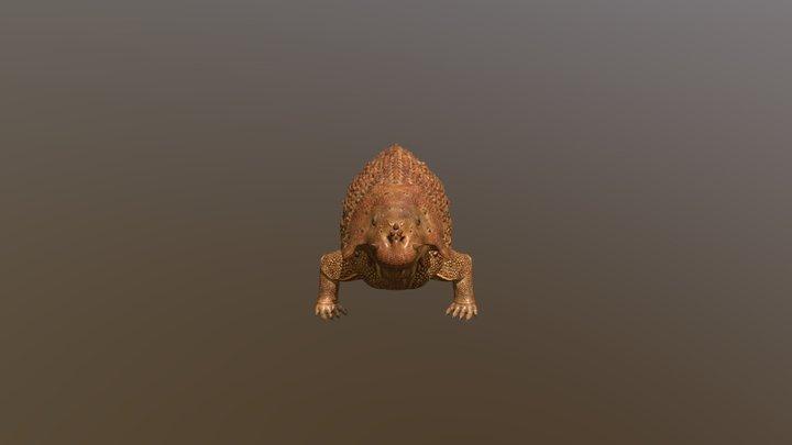 Scutosaurus Karpinskii 3D Model