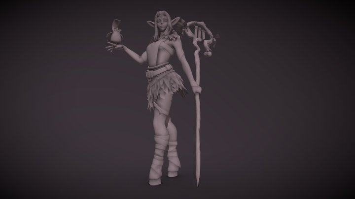Draft Detal nocolor 3D Model