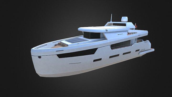 Citizen of the seas - luxury yacht 3D Model