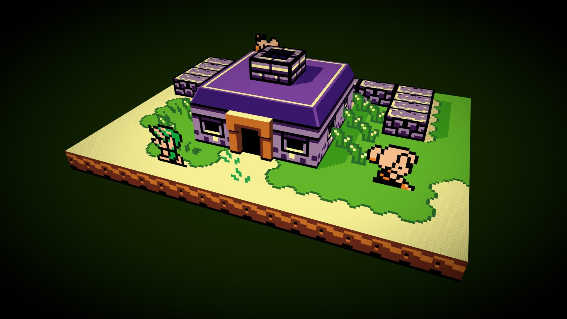 The Legend Of Zelda Link S Awakening 3d Model By