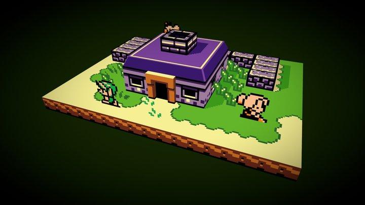 The Legend of Zelda: Link's Awakening 3D Model