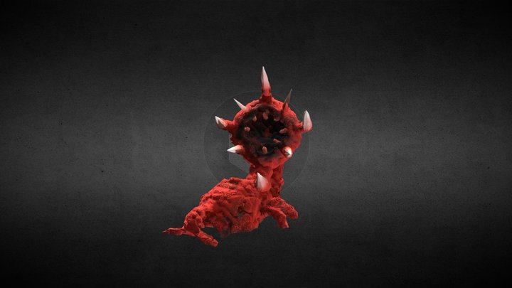 Tusk Creature for 'Believe' music video 3D Model