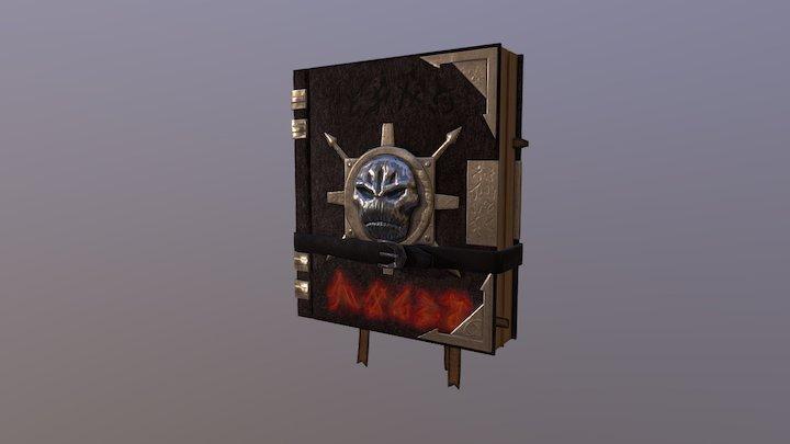 Cursed Book 3D Model