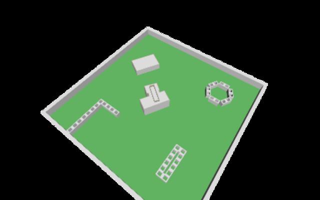 robot scene 3D Model