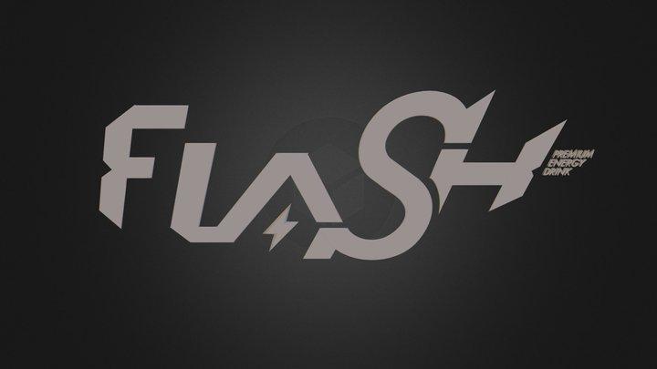 Flash Logotype.3ds 3D Model