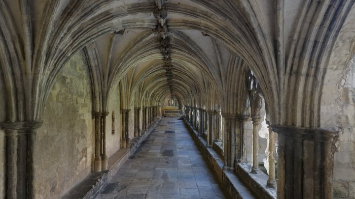 Norwich Cathedral Cloisters South Wing 3D Model