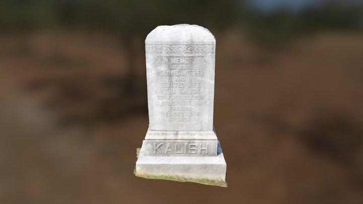 Headstone of Lena Kalish 3D Model