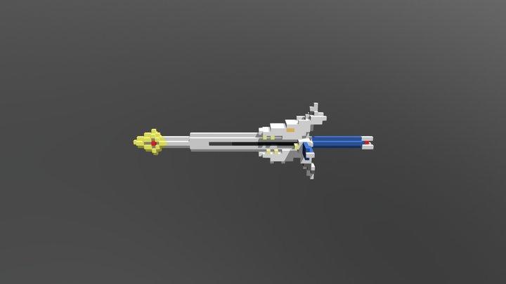 Burning Sword Breaker 3D Model